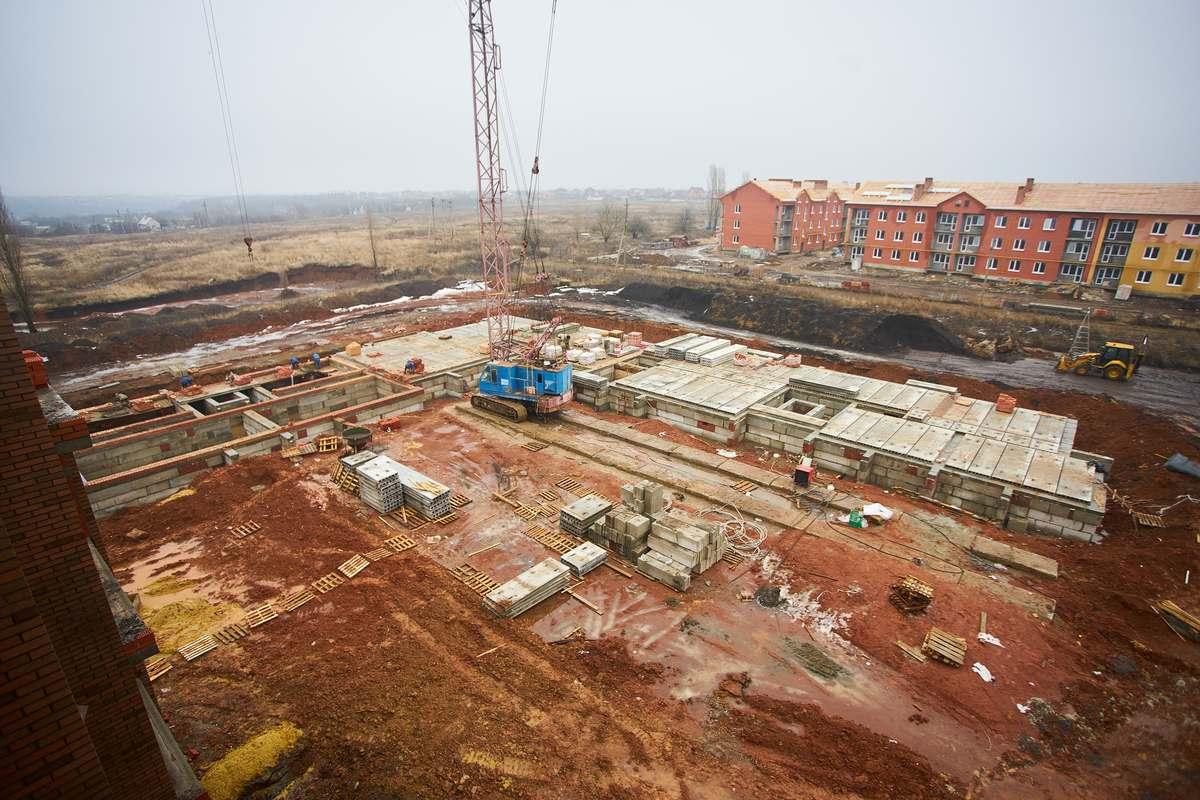 БраерПарк Центр. Ход строительства Январь 2021