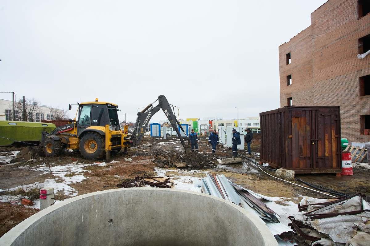 БраерПарк Центр. Ход строительства Февраль 2021