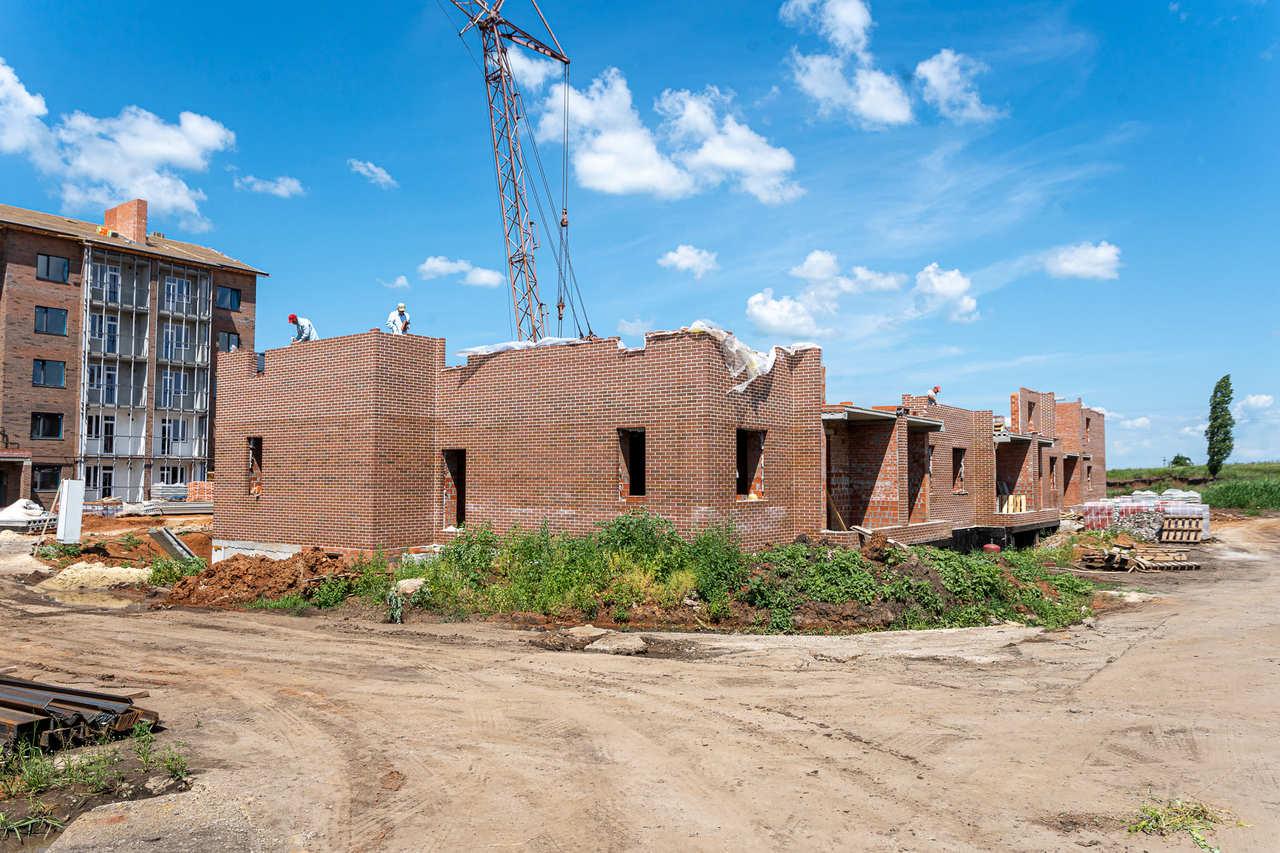 БраерПарк Центр. Ход строительства Июнь 2021