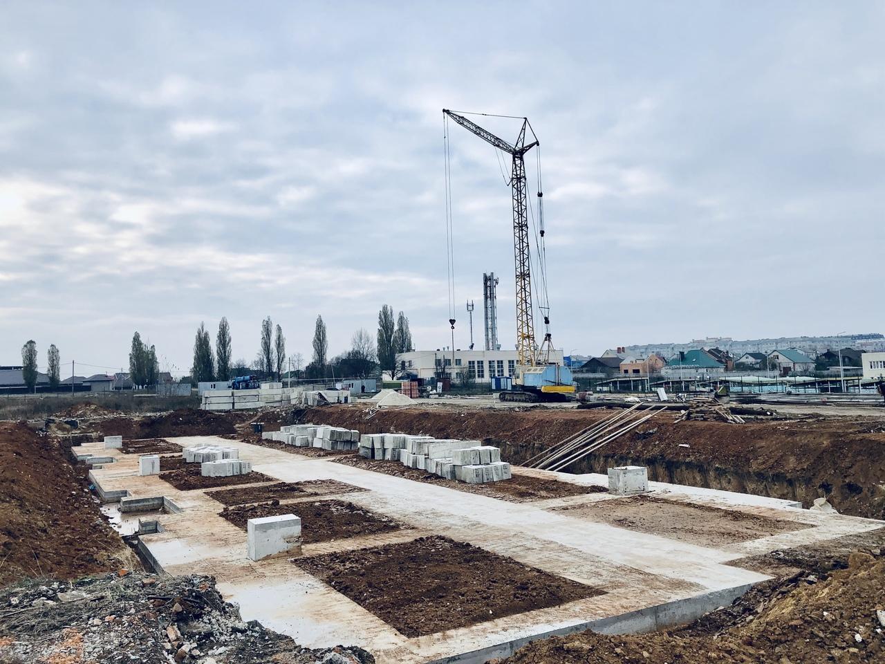 БраерПарк Центр. Ход строительства Ноябрь 2019