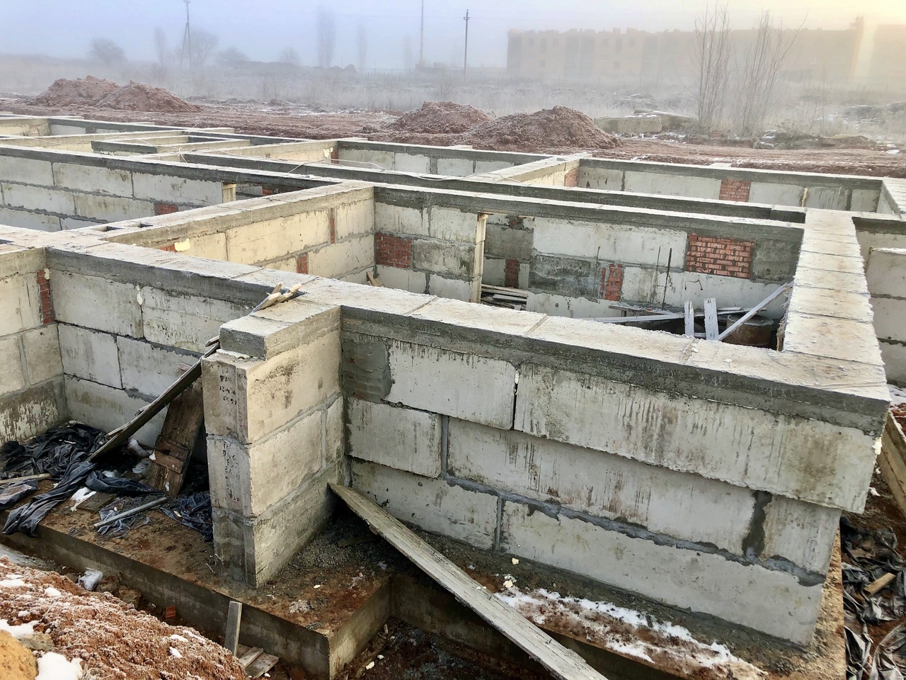 БраерПарк Центр. Ход строительства Январь 2020