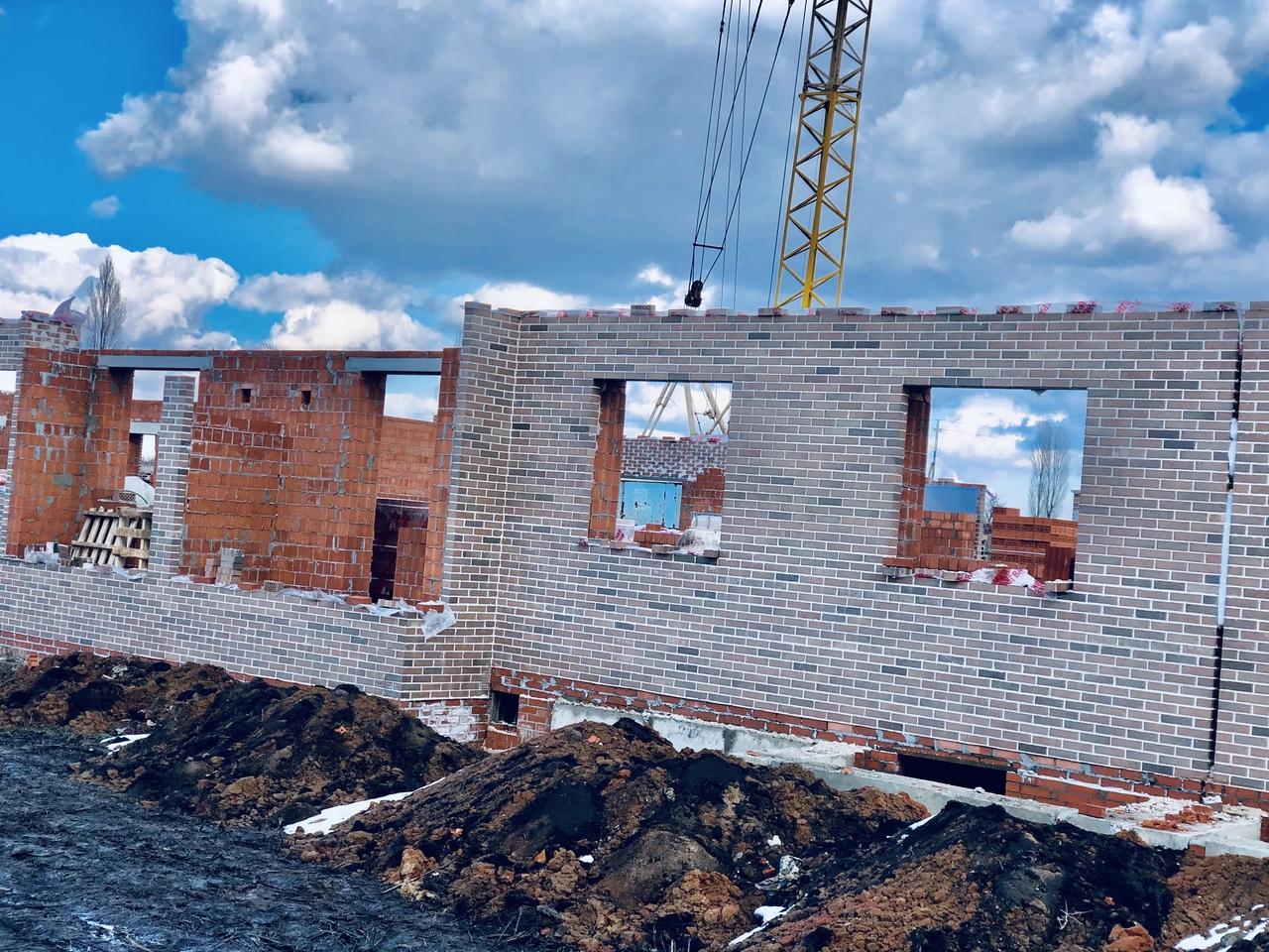 БраерПарк Центр. Ход строительства Февраль 2020