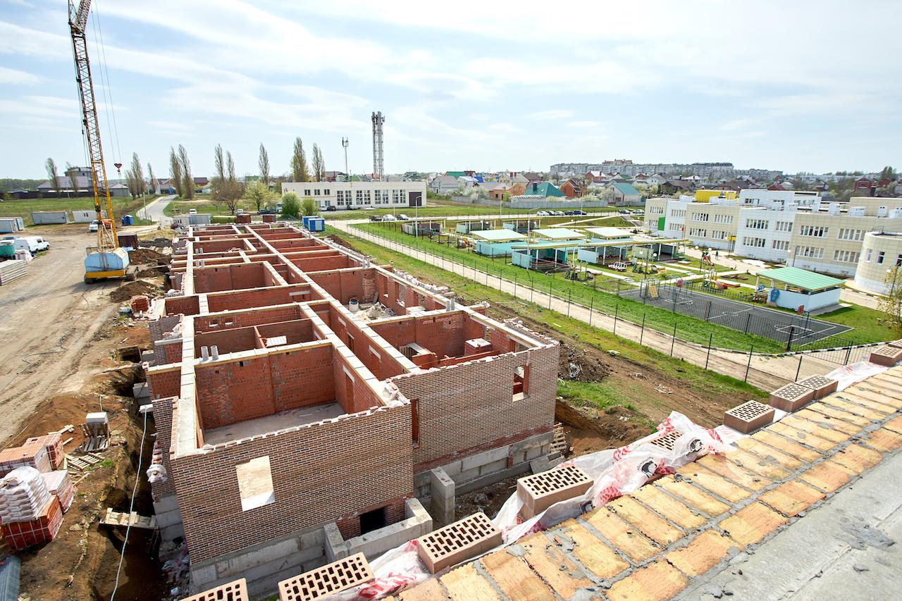 БраерПарк Центр. Ход строительства Апрель 2020