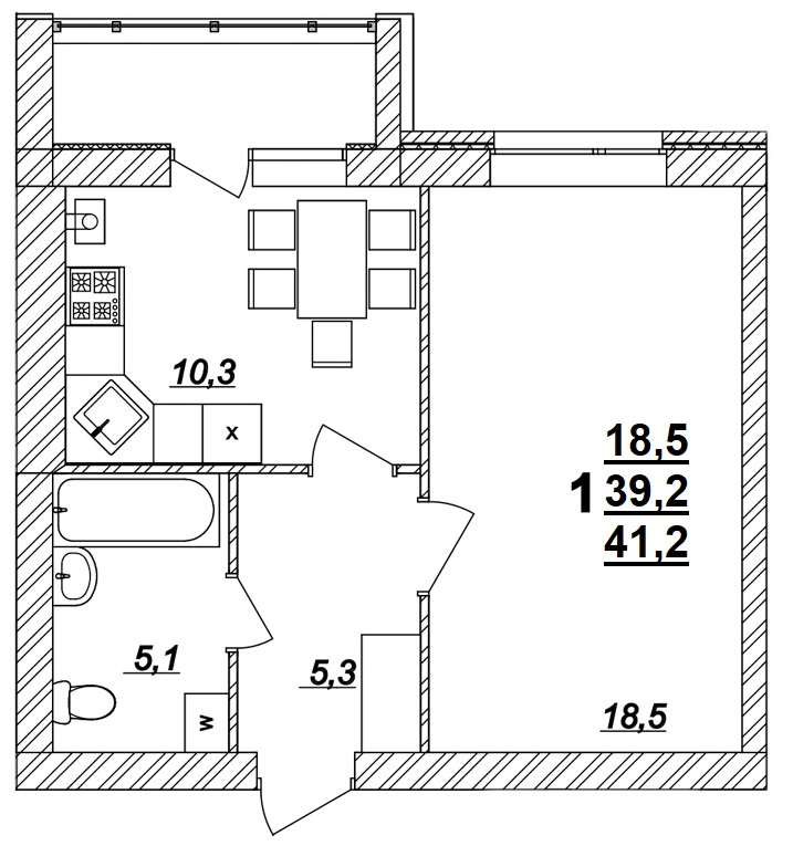 Квартира №14