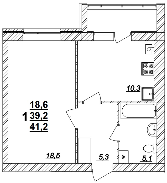 Квартира №77
