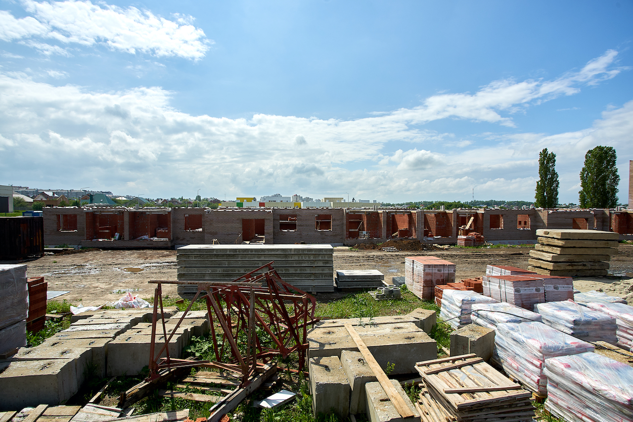 БраерПарк Центр. Ход строительства Май 2020