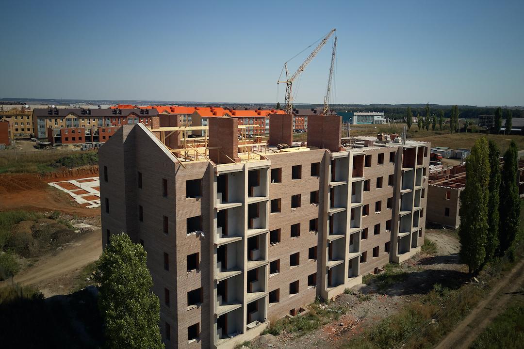 БраерПарк Центр. Ход строительства Август 2020