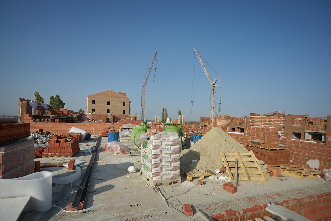 БраерПарк Центр. Ход строительства Сентябрь 2020