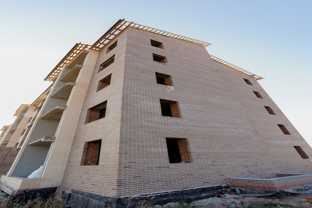 БраерПарк Центр. Ход строительства Октябрь 2020
