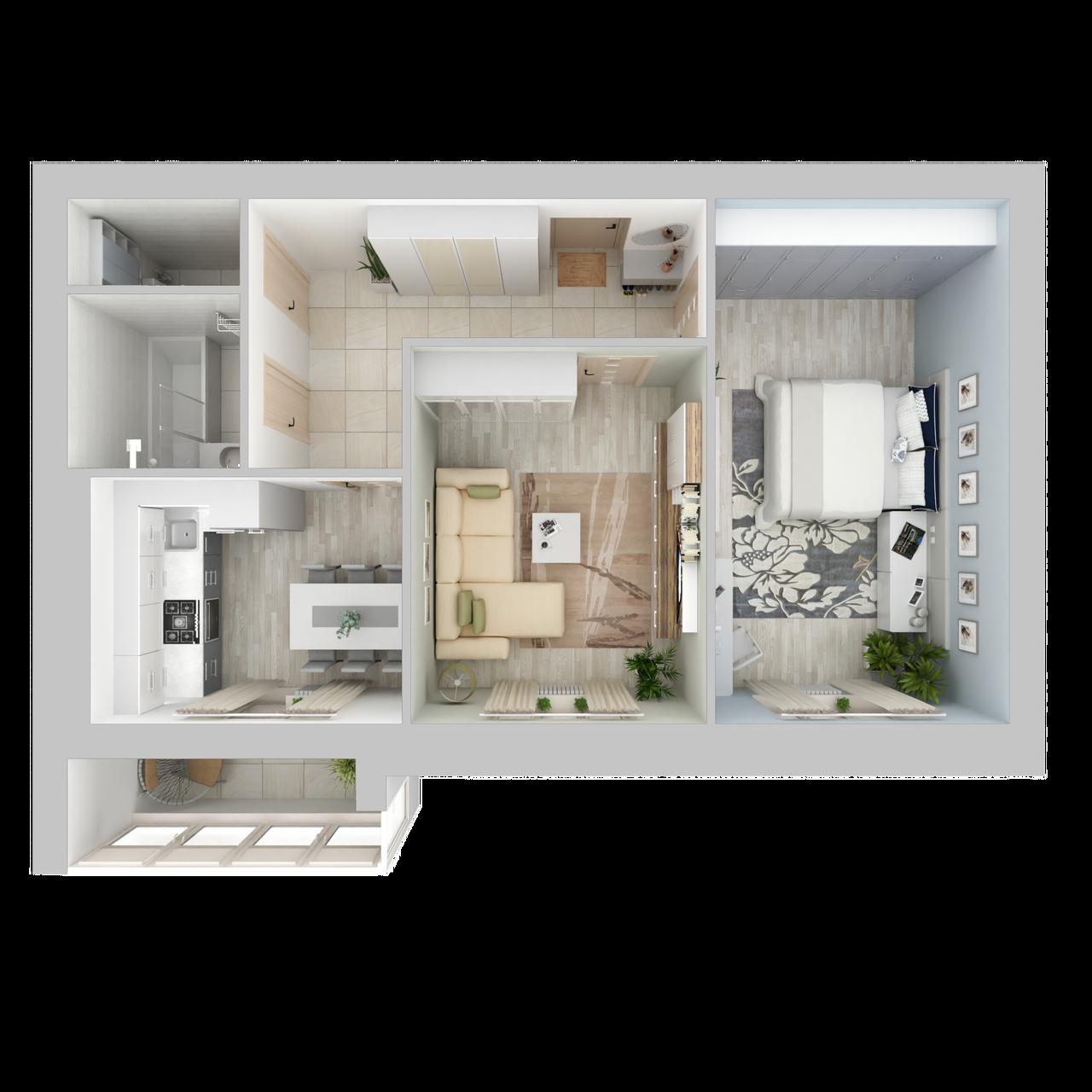 Квартира №48