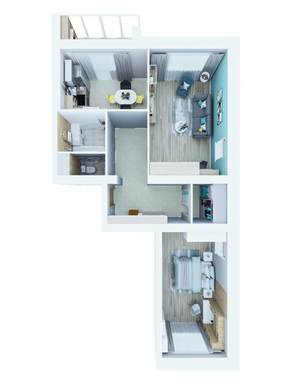 Квартира №72