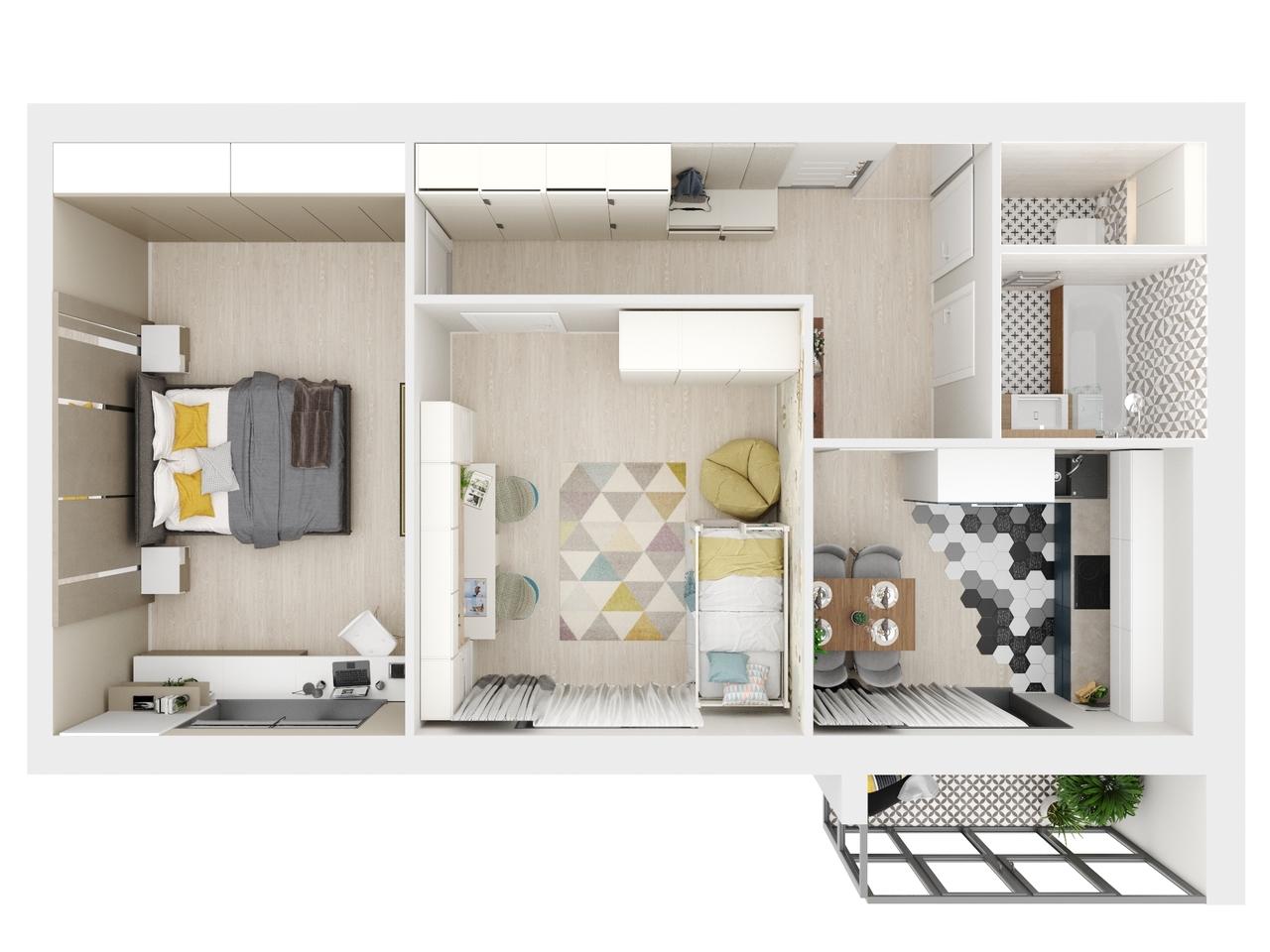 Квартира №92